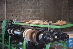 Hjälpmedel för skotillverkare Arkivbild