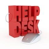 Hjälpskrivbord Arkivfoto
