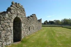 Hjortabbotskloster, Aberdeenshire Royaltyfria Bilder