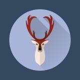 Hjortar sänker symbolen Royaltyfri Foto