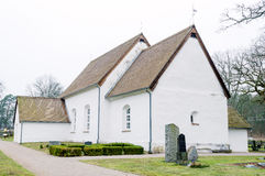 Hjortsberga church Stock Photography