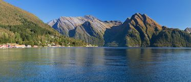 The Hjorundfjord from Saebo Stock Images