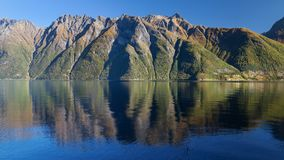 The Hjorundfjord and the Sunnmore Alps Royalty Free Stock Images