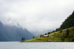 Hjorundfjorden Royalty Free Stock Photo