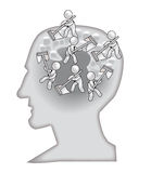 hjärnwash skallr dig Royaltyfria Bilder