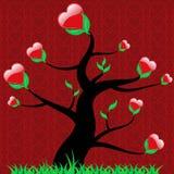 hjärtavalentin Royaltyfria Bilder