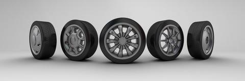 hjul Royaltyfri Fotografi