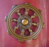 Hjul av Dharma Arkivfoto
