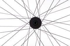 Hjul av en cykeldetalj Arkivbild