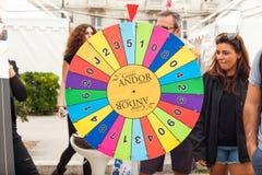 Hjul av förmögenhet Royaltyfri Foto