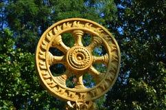 Hjul av liv Thailand Arkivfoto