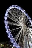 hjul för 2 manchester Arkivbild