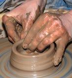hjul för 3 keramiker s Royaltyfria Bilder