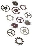 hjul för bakgrundskuggekugghjul Royaltyfri Bild