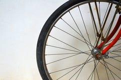 hjul för cykelspokegummihjul Royaltyfri Bild