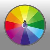 hjul för förmögenhetillustrationvektor Arkivfoton