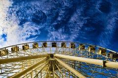 Hjul för Ferrie ` s Önska alltid att se staden från höjden Royaltyfri Foto