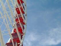 hjul för ferrismarinpir fotografering för bildbyråer