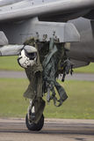hjul för flygplanflygdräkt Fotografering för Bildbyråer