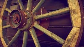 Hjul för gammal stil Arkivbilder