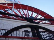 hjul för isabella ladyvatten Arkivbild