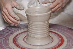 hjul för keramiker s Royaltyfri Bild