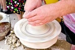 hjul för keramiker s Arkivfoto