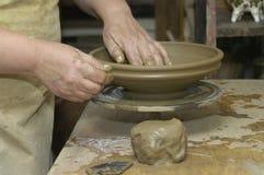 hjul för keramiker s Arkivbild