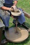 hjul för keramiker s Royaltyfria Foton