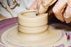 hjul för keramiker s Royaltyfri Illustrationer