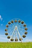 hjul för korgferrisblommor Royaltyfria Foton