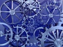 hjul för kuggekugghjulmaskineri Arkivbild