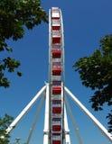 hjul för pir för marin för chicago ferrisil Arkivbild
