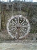 Hjul för skovel för paradisliten vik gammalt Arkivfoto