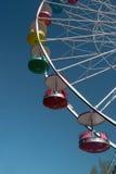 hjul för sky för park för pa för blåa ferris för munterhet jätte- Arkivbilder