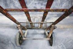 Hjul för spårvagn 2 arkivbild