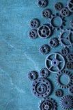 Hjul för Steampunk mekaniska kuggekugghjul Royaltyfri Fotografi