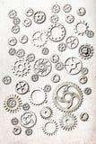 Hjul för Steampunk mekaniska kuggekugghjul Royaltyfria Bilder
