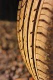 hjul gummihjul, gummi Royaltyfria Foton
