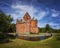 Hjularod castle Stock Image