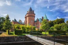 Hjularod fairytale castle Stock Photos