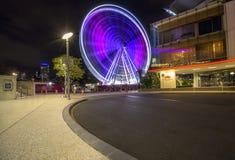Hjulen av Brisbane Arkivbild