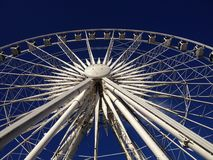 Hjulet av Liverpool Royaltyfria Bilder