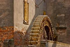 Hjulet av watermillen Royaltyfri Foto