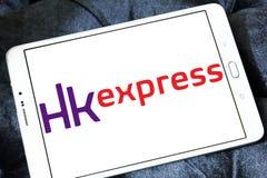HK明确空中航线商标 免版税图库摄影