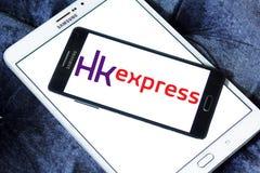 HK明确空中航线商标 免版税库存照片