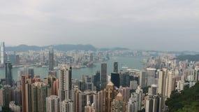 HK是在上面 免版税库存图片