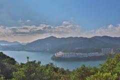 hk的Tai Tam港口2016年 免版税库存照片
