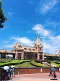 A HK Disney aterra Foto de Stock