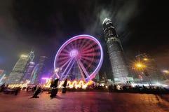 HK Ferries Wheel IFC Stock Photography